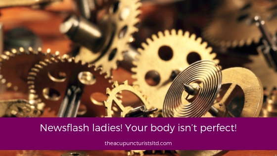 Newsflash Ladies Your Body Isn't Perfect