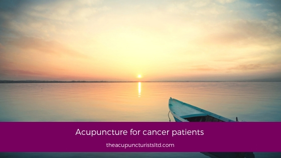 Acupuncture For Cancer Patients