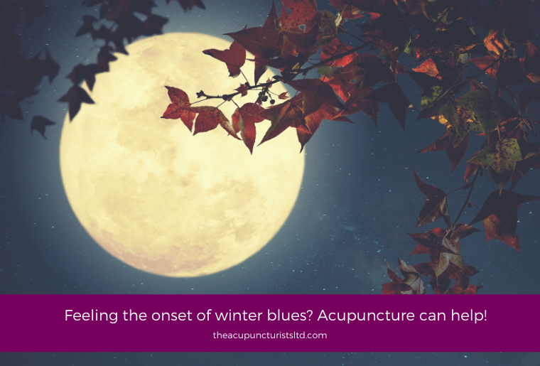 Feeling The Onset Of Winter Blues Acupuncture Can Help!