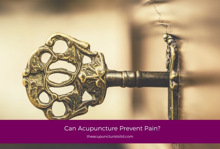 Can Acupuncture Prevent Pain?