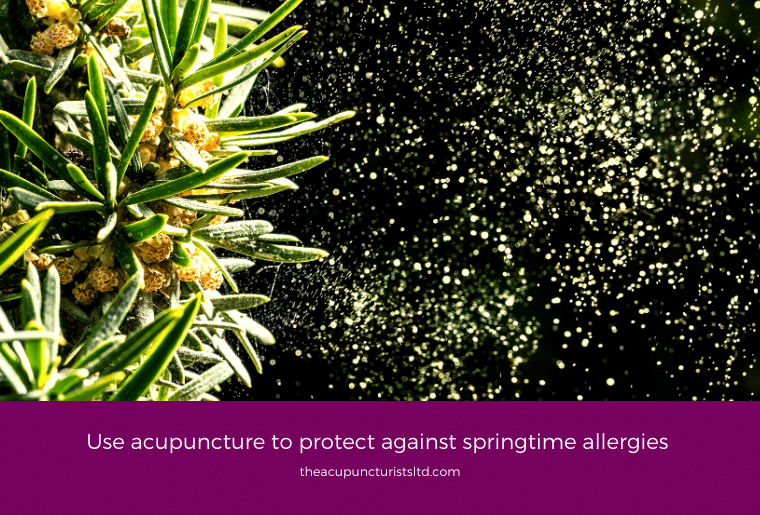 Use Acupuncture To Protect Against Springtime Allergies