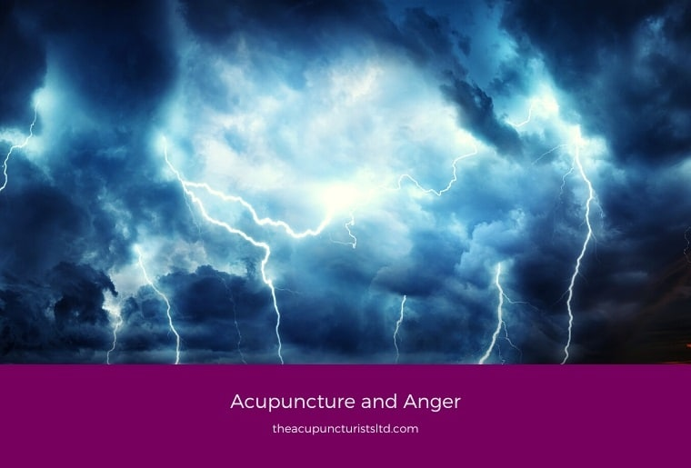 Acupuncture And Anger