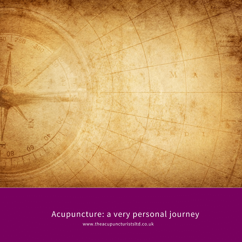 Acupuncture A Very Personal Journey Small